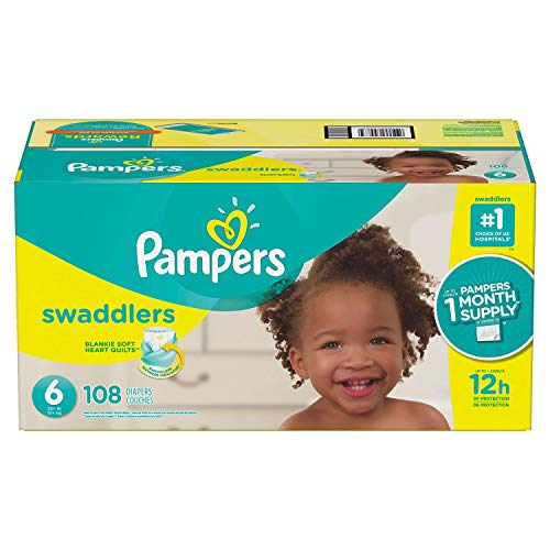 Pampers Swaddlers Diapers, Economy Pack Plus,