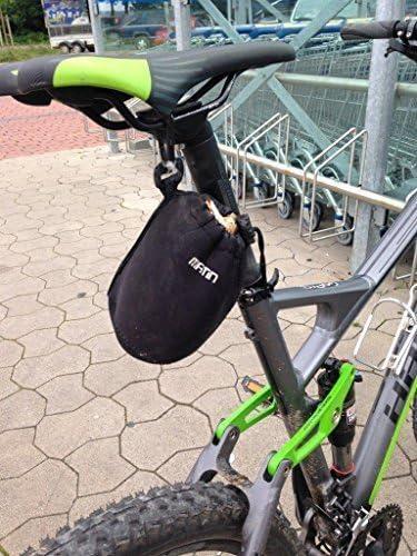 Neopreno Bolsa para sillín bicicleta bolso Bike Flickzeug MTB Cube ...