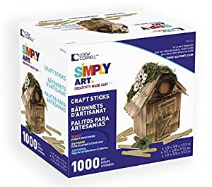 Simply Art Wood Craft Sticks 1000 ct.