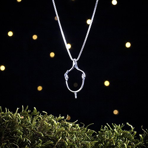 Sterling Silver English Spur - Small, 3D Double Sided - (Pendant or Necklace)