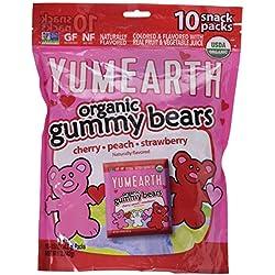 YumEarth Organic Gummy Bears, Heart, 5 Ounce