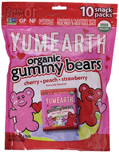 YumEarth Organic Gummy Bears