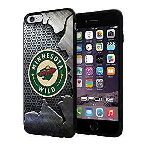 Minnesota Wild Crack Iron #2075 iphone 5s) I+ Case Protection Scratch Proof Soft Case Cover Protector