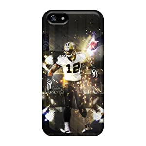 Iphone 5/5s IMr8199hGfA Special Colorful Design New Orleans Saints Image High Quality Hard Phone Covers -TanyaCulver