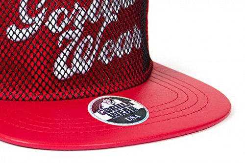 Gorilla Wear Mesh Cap Red