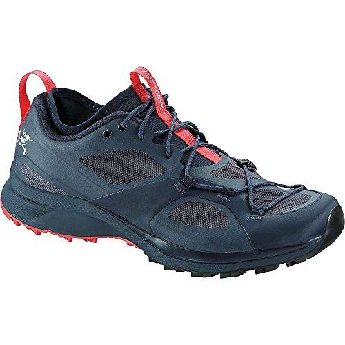 Arc'teryx Norvan VT Trail Running Shoe - Women's Blue Nights/Coral, US 8.5/UK 7.0