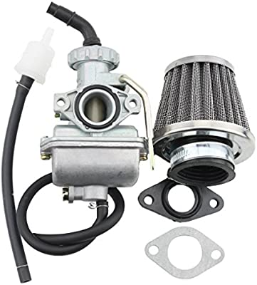 GOOFIT Carburador 16 PZ16 Minimoto con Membrana Filtro de Aire ...