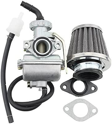 GOOFIT Carburador 16 PZ16 Minimoto con Membrana Filtro de ...