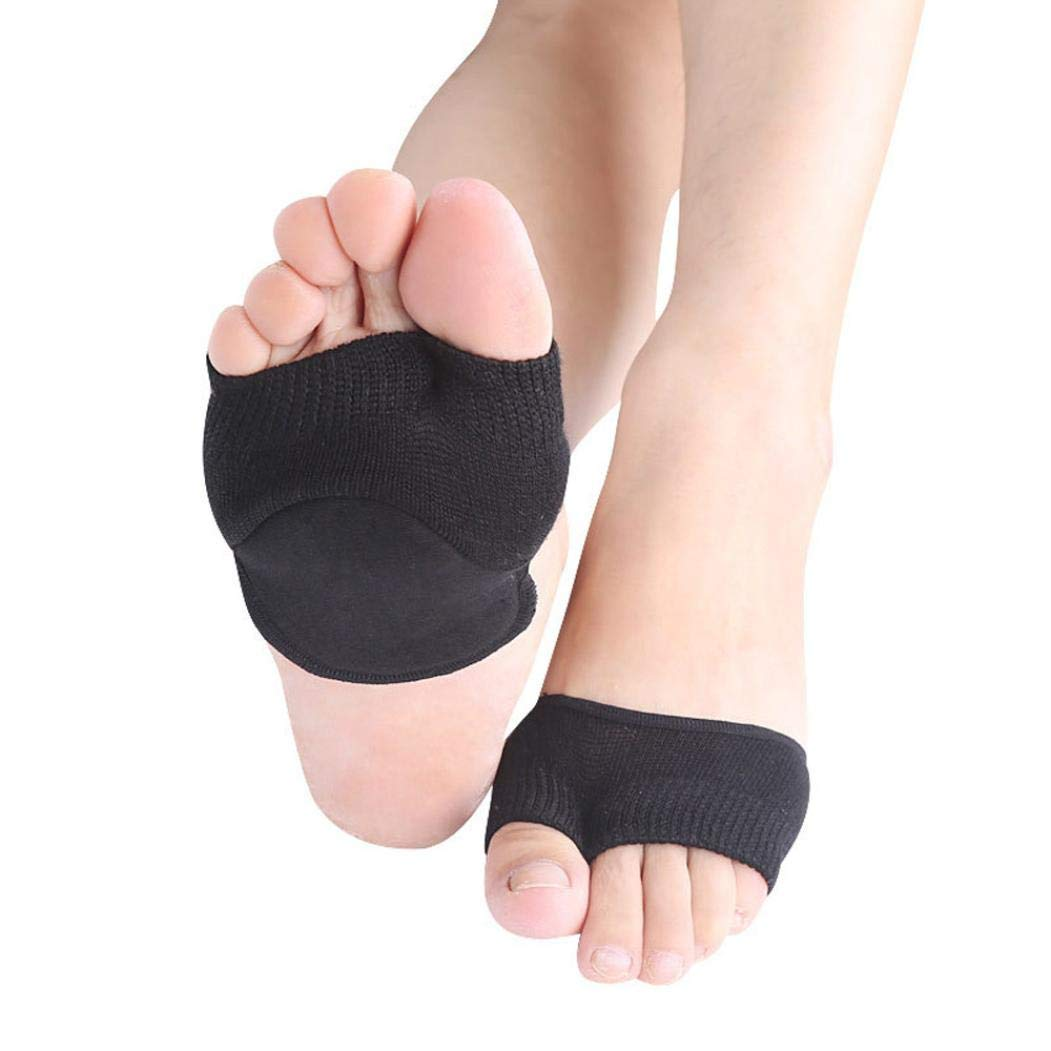 Sweat-Absorbent Cotton Thin Section Two-Toe Non-Slip Thumb Aligner Lady With Pad