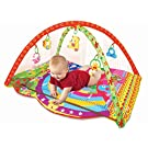 [New Arrival, March 2016] PLS Baby Colorful Play Gym Playmat, Extra Thick, Rattle Toys, Non-toxic