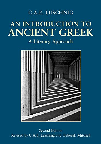 Intro.To Ancient Greek:Literary Appr.