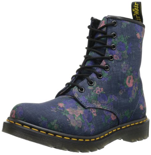 Boot Martens Castel Blue Up Dr Blau Adult Lace Denim Unisex 4dwqY