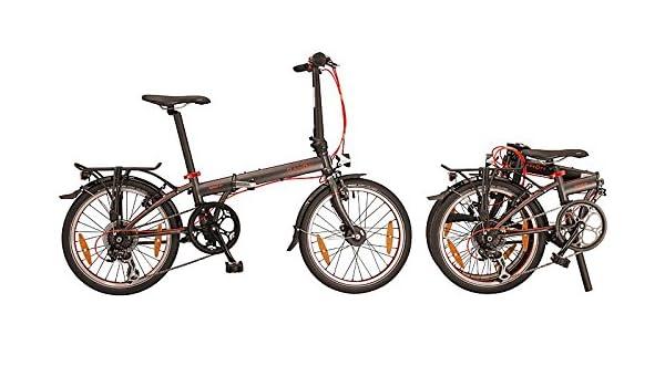 20 Pulgadas Bicicleta plegable Dahon Speed de 7 velocidades bicicleta plegable para: Amazon.es: Deportes y aire libre