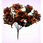 Inna-Wholesale-Art-Crafts-New-7-TAN-Brown-Open-Roses-Soft-Touch-Silk-Bouquet-Decorating-Flowers-Centerpieces-Perfect-for-Any-Wedding-Special-Occasion-or-Home-Office-Dcor