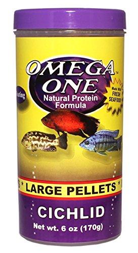 Pictures of Omega One Cichlid Pellets - Large Floating 6oz. 54431 1