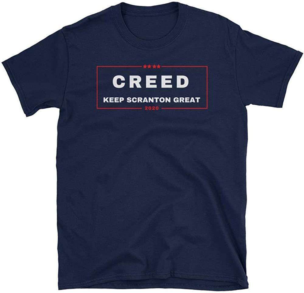 The Office TV Show Creed 2020 Keep Scranton Great Tshirt, Funny Shirt for Fans, Unisex Printed in USA