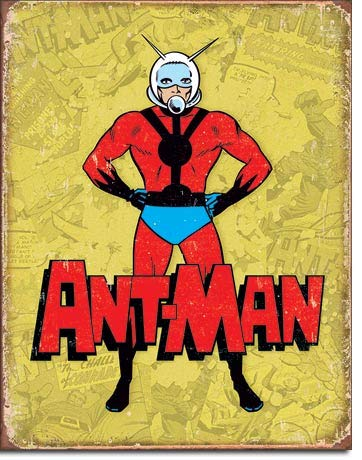 """The Finest Website Inc. New Ant Man 16"""" x 12.5"""" (D2240) Vintage Appearance Tin Sign"""