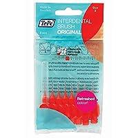 TePe Red 0.5mm Size 2 Interdental Brush - 1 Pack (8 Brushes)