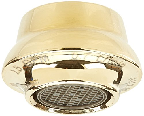 Victorian Collection Polished Brass (Delta RP53343PB Victorian 1.5 Gpm Aerator, Polished Brass)
