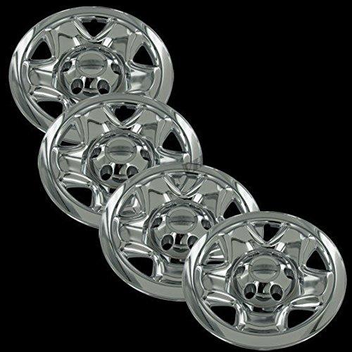 "Chrome 16"" Hub Cap Wheel Skins for Toyota Tacoma - Set of 4"