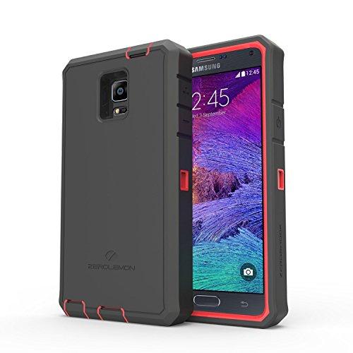 Samsung Galaxy Note 4  Rugged Case,Zerolemon ZeroShock Rugged Case + Belt Clip [Battery NOT Included…