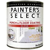 True Value UGF3-QT Painter's Select Light Gray Interior/Exterior Urethane Fortified Gloss Porch and Floor Coating, 1-Quart
