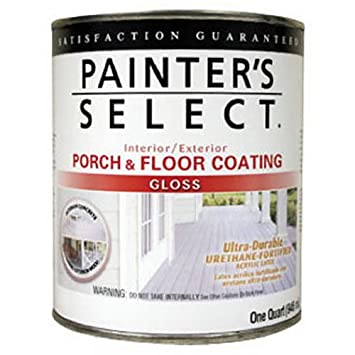True Value UGF3 QT Painteru0027s Select Light Gray Interior/Exterior Urethane  Fortified Gloss Porch