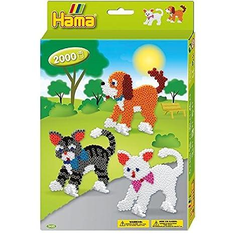 Hama 3433 Loisirs Créatifs Boîte Perles à Repasser Taille