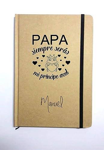 Libreta personalizada para papá