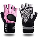 SIMARI Workout Gloves for Women Men,Training Gloves with Wrist Support for Fitness Exercise Weight...