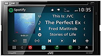 JVC KW-V640BT 6.8 Clear Resistive Touch Monitor WebLink Bluetooth 13-Band EQ JVC Remote App
