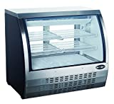 open display case refrigerators - Limited Time Special! Commercial Deli Case Refrigerator with Curved Glass Display 47'' with LED lighting