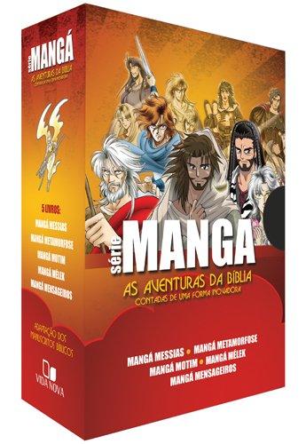 Box Série Mangá - 05 (cinco) Livros