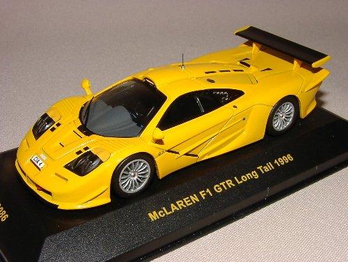 IXO McLaren F1 GTR Long Tail Orange 1996 1/43 Scale Diecast Model