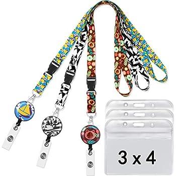 Amazon.com: Pack de 3 correas de cuello para llavero o ...