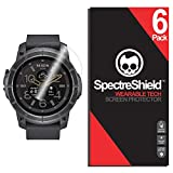 Spectre Shield Nixon The Mission Screen Protector (6-Pack) Flexible Full Coverage Ultra HD Clear Anti-Bubble Anti-Scratch Unlimited Replacement Film