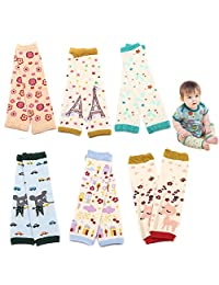 6 Packs Baby and Toddler Leg Warmers 3.15'' x 11.8'' from Sept.Filles