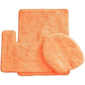 Amazon Com Royal Plush Collection 3 Piece Bathroom Rug
