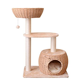 Árboles para gatos Cat Activity Tree Tower Bed Condo Scratching Post, Muebles de la casa del Gato para los Gatitos, Gatos y Mascotas: Amazon.es: Productos ...