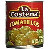 La Costena Green Tomatillos, 28 OZ (Pack of 12)