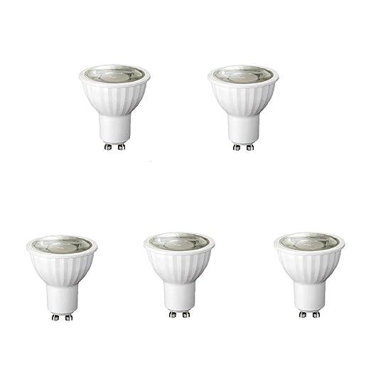 BOMBILLA LED GU10 8W 220-240V 4200K REGULABLE 5 (Pack)
