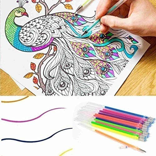 Dongtu Child Student Writing Painting Stationery Colorful Fluorescence Gel Pen Core Highlighters (36 Pcs) Photo #6