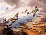 Normandy Fighter Sweep, by Nicolas Trudgian - 2500 Limited Edition