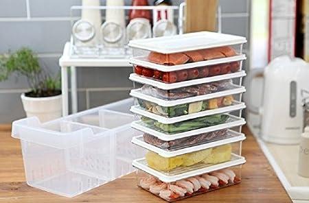 Cocina Organizador de frigorífico, frigorífico y congelador ...