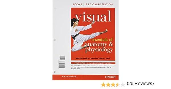 Amazon.com: Visual Essentials of Anatomy & Physiology, Books a la ...