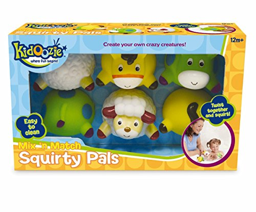 Kidoozie Mix 'n Match Squirty Pals Bath Toy