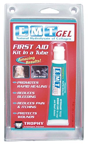 - EMT Gel Reduces bleeding And pain for Small and Large Animals (1oz)