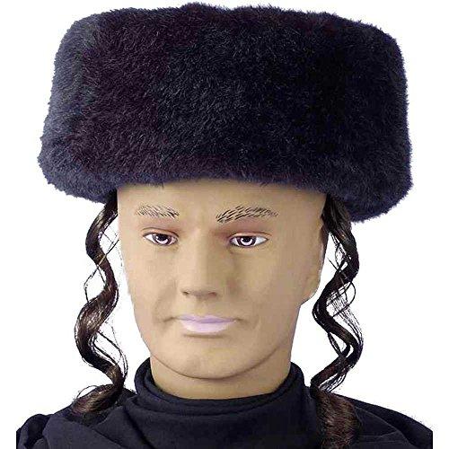 Forum Novelties Shtreimel Hat with Payes -
