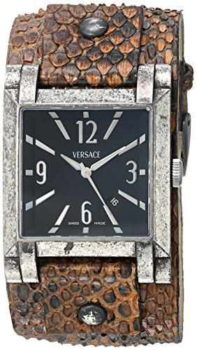 Versace-Womens-FLQ99D472-S0273-Character-Analog-Display-Swiss-Quartz-Brown-Watch