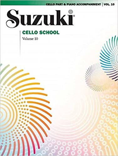 suzuki cello school cello vol10 includes piano accompaniment